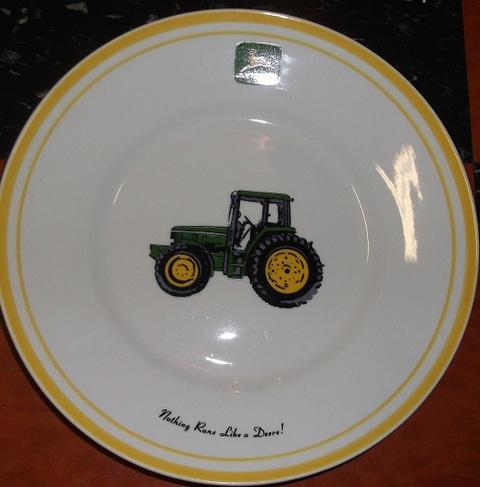 John Deere Porclean Plate & Hanners Wholesale Retail   Jackson Missouri